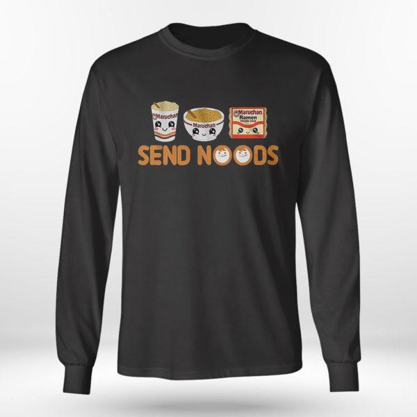 Longsleeve shirt Send Noods Maruchan T Shirt
