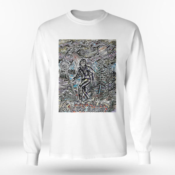 Longsleeve shirt The Hermit Sasquatch Bigfoot shirt