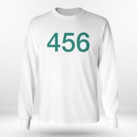 Longsleeve shirt The Squid Games 456 Shirt