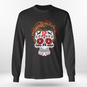 Longsleeve shirt Tom Brady Sugar Skull Shirt