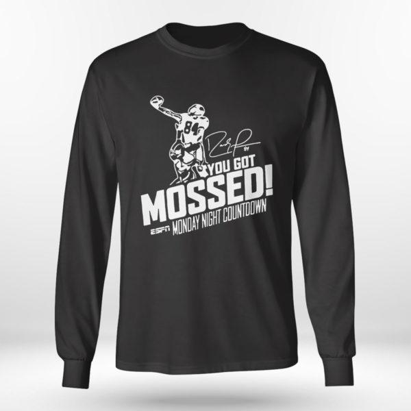 Longsleeve shirt You Got Mossed Randy Moss Monday Night Countdown Shirt