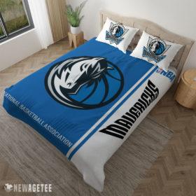 Pillow Case Dallas Mavericks NBA Basketball Duvet Cover and Pillow Case Bedding Set