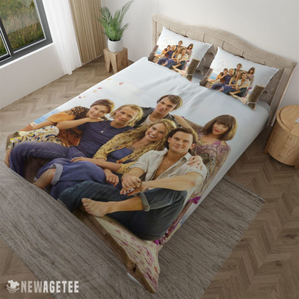 Pillow Case Mamma Mia Here We Go Again Movie Duvet Cover and Pillow Case Bedding Set