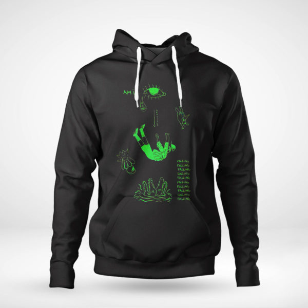 Pullover Hoodie Andy Mineo falling shirt