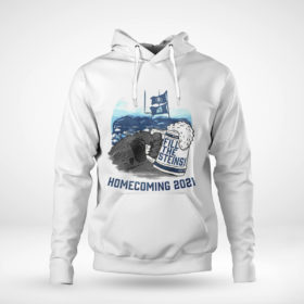 Pullover Hoodie Fill the Steins Homecoming 2021 beer t shirt
