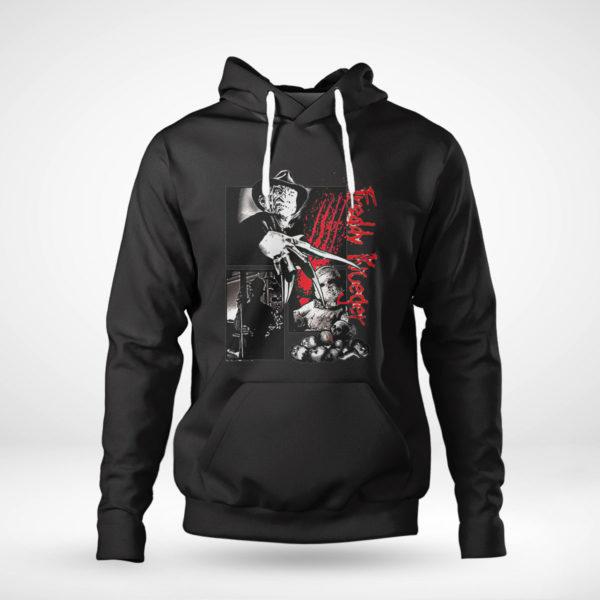 Pullover Hoodie Freddy Krueger Halloween 2021 horror shirt