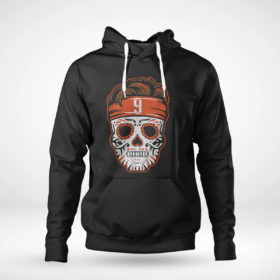 Pullover Hoodie Joe Burrow Sugar Skull Shirt