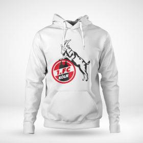 Pullover Hoodie Koln FC logo shirt