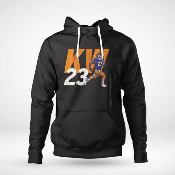Pullover Hoodie Kyren Williams Kw23 Shirt