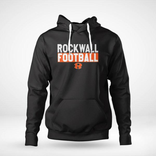 Pullover Hoodie Rockwall Football shirt