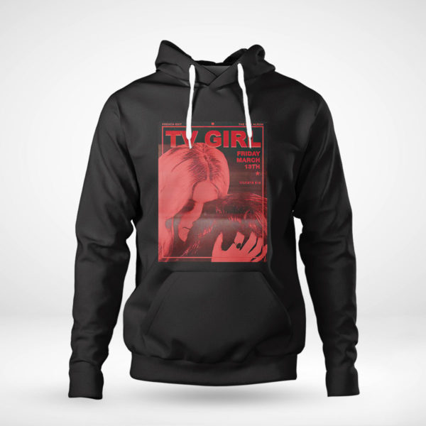 Pullover Hoodie TV Girl French Exit Active shirt