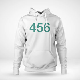 Pullover Hoodie The Squid Games 456 Shirt