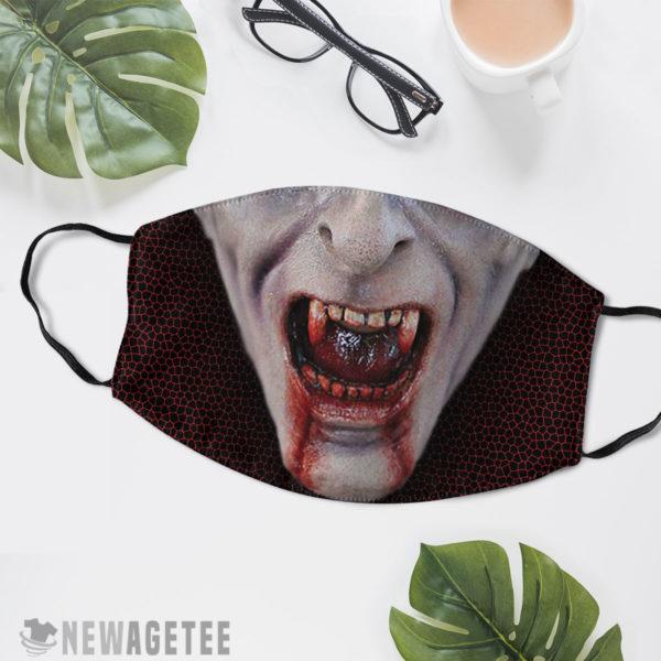 Reusable Face Mask Count Dracula Cosmetics Vampire Face Mask