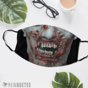 Reusable Face Mask Decapitation Party Costume Halloween Face Mask