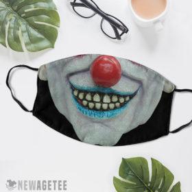Reusable Face Mask Evil clown Masquerade ball Face Mask