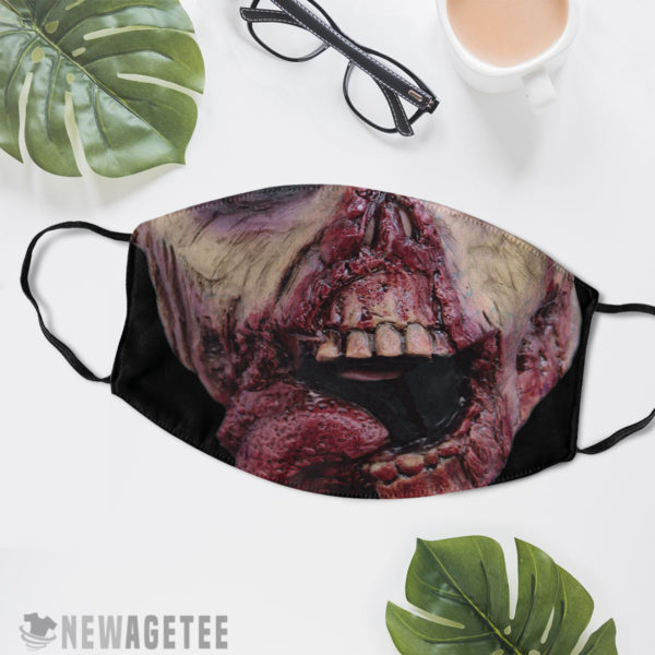 Reusable Face Mask Ghoul Zombie Face Mask