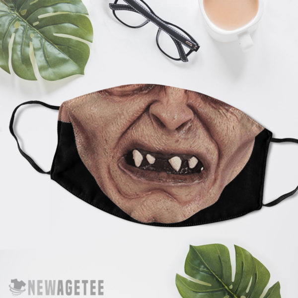 Reusable Face Mask Gollum The Lord of the Rings Hobbit Face Mask