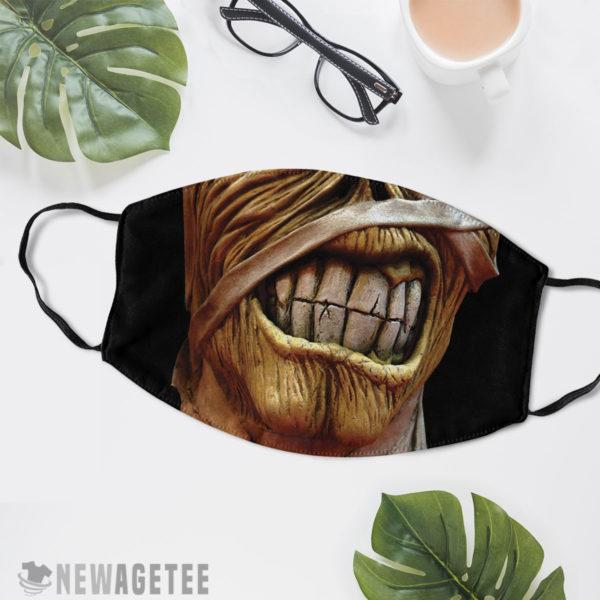 Reusable Face Mask Iron Maiden Tour Eddie Powerslave Face Mask