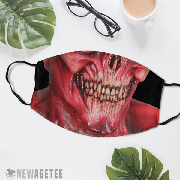 Reusable Face Mask Lucifer Devil Demon Satan Face Mask