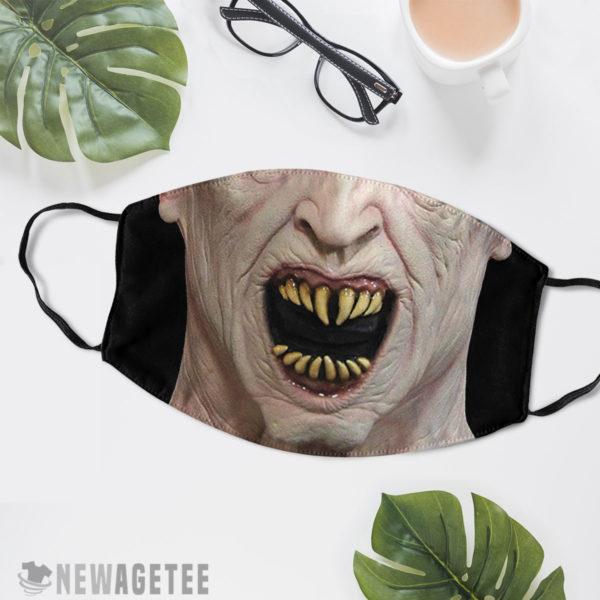 Reusable Face Mask Nosferatu Count Dracula Halloween costume Face Mask