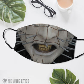 Reusable Face Mask Pinhead Hellraiser Face Mask
