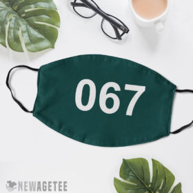 Reusable Face Mask Squid Game 067 Face Mask Kang Sae Byeok