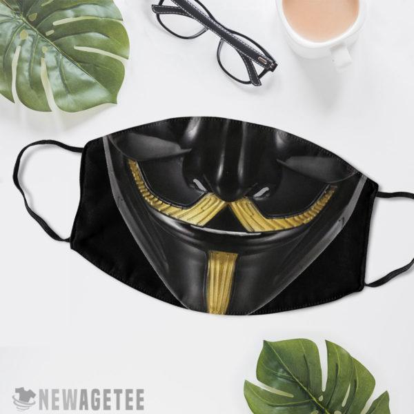 Reusable Face Mask V Guy Fawkes Face Mask Masquerade ball Anonymous