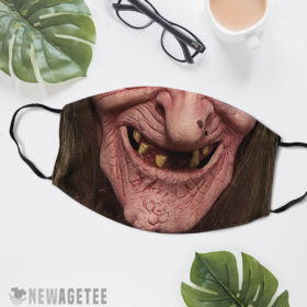 Reusable Face Mask Witchcraft Halloween costume Sea Hag Face Mask