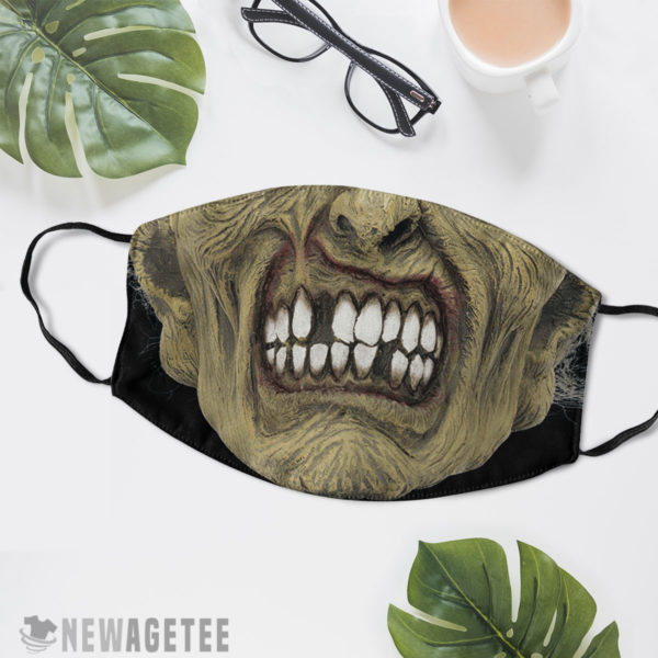 Reusable Face Mask Zombie Face Mask Halloween costume Dawn of the Dead