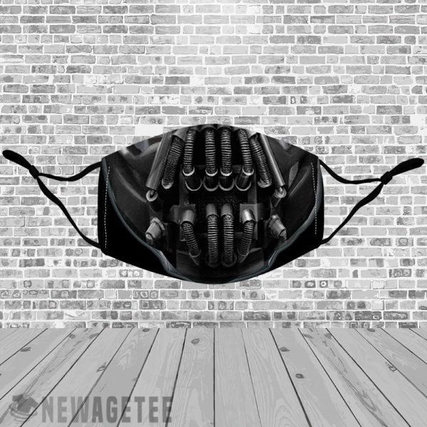 Stretch to Fit Mask Bane Bicycle Helmets Batman Knightfall Joker Face Mask