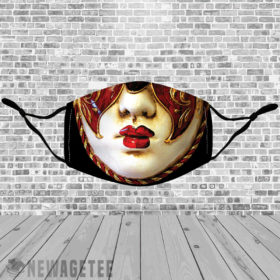 Stretch to Fit Mask Carnival Mardi Gras Face Mask