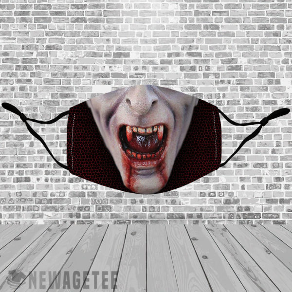 Stretch to Fit Mask Count Dracula Cosmetics Vampire Face Mask