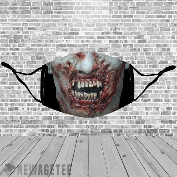 Stretch to Fit Mask Decapitation Party Costume Halloween Face Mask