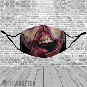 Stretch to Fit Mask Ghoul Zombie Face Mask