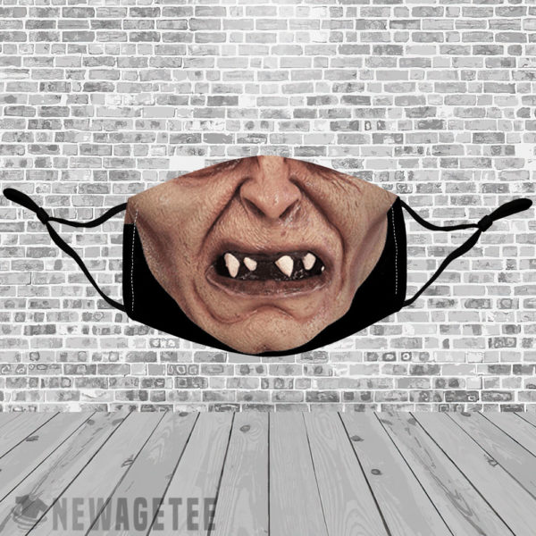 Stretch to Fit Mask Gollum The Lord of the Rings Hobbit Face Mask