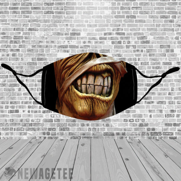 Stretch to Fit Mask Iron Maiden Tour Eddie Powerslave Face Mask