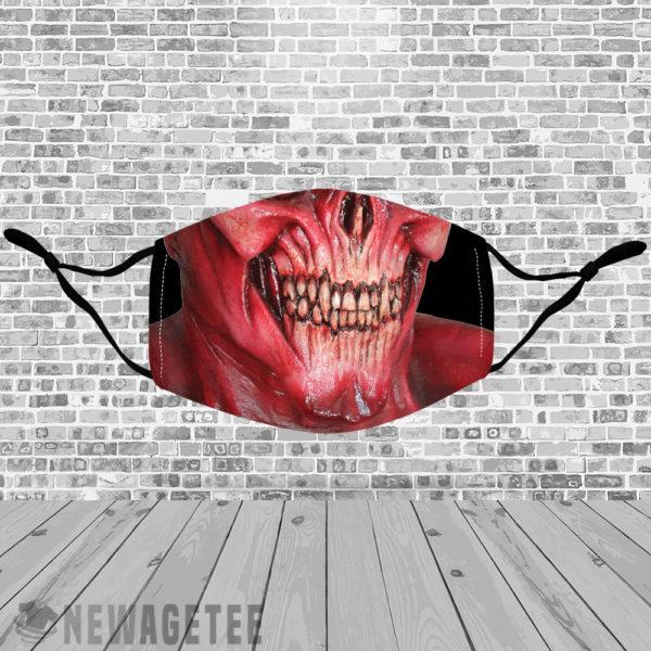 Stretch to Fit Mask Lucifer Devil Demon Satan Face Mask