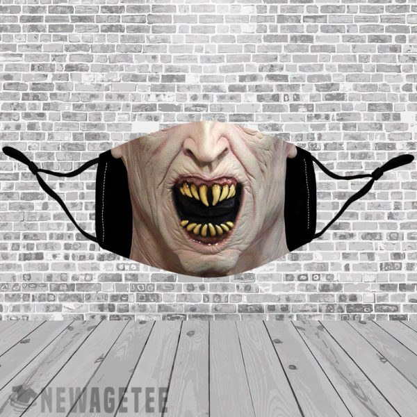 Stretch to Fit Mask Nosferatu Count Dracula Halloween costume Face Mask