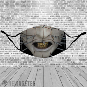 Stretch to Fit Mask Pinhead Hellraiser Face Mask