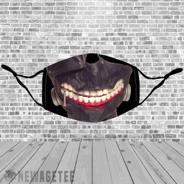 Stretch to Fit Mask Tokyo Ghoul Face Mask Drawing Manga
