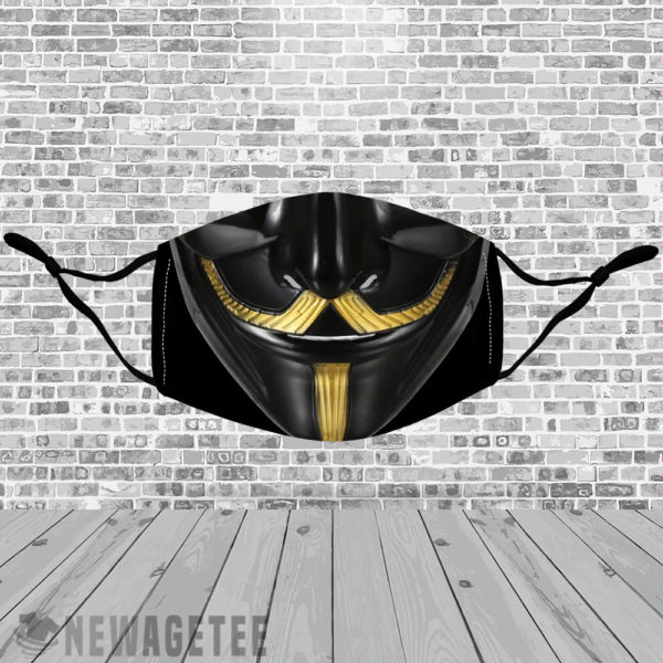 Stretch to Fit Mask V Guy Fawkes Face Mask Masquerade ball Anonymous