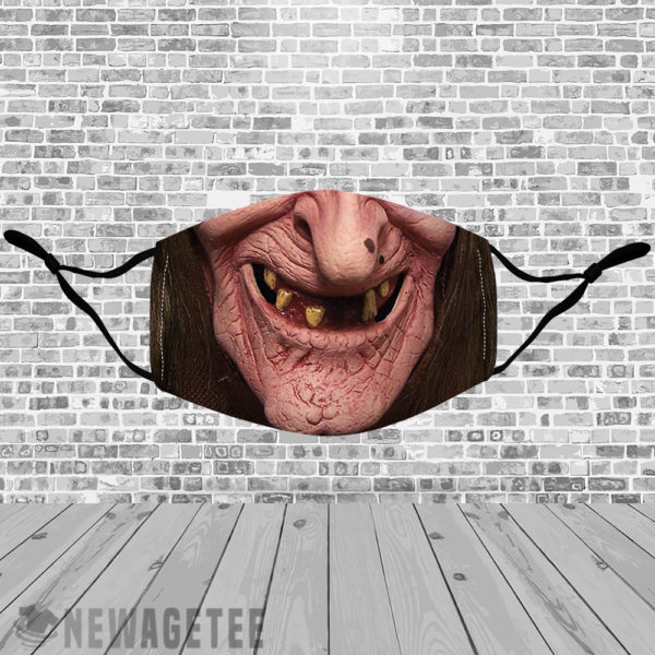 Stretch to Fit Mask Witchcraft Halloween costume Sea Hag Face Mask