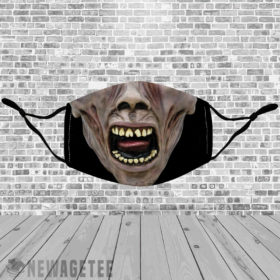 Stretch to Fit Mask World War Z Ghoul Face Mask Zombie Halloween costume