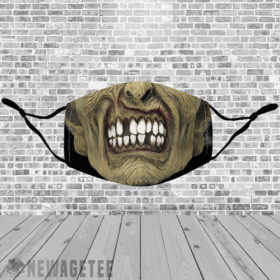 Stretch to Fit Mask Zombie Face Mask Halloween costume Dawn of the Dead