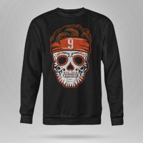 Sweetshirt Joe Burrow Sugar Skull Shirt