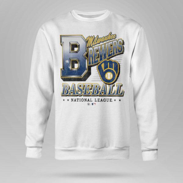 Sweetshirt Milwaukee Brewers 47 Tubular shirt