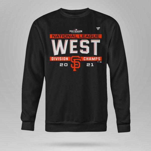 Sweetshirt Postseason NL West Division Champs San Francisco Giants Shirt