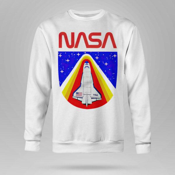 Sweetshirt Random Red World Spaceship Nasa shirt Tank top