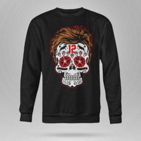 Sweetshirt Tom Brady Sugar Skull Shirt