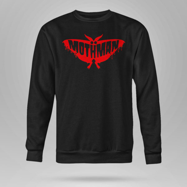 Sweetshirt WV Urban Legend Mothman Shirt